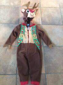 Reindeer onesie Age 1-2