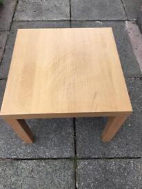 Ikea lack table x2