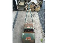 1970s Lawn Mower and roller.
