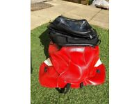 Bagster tank cover and bag