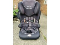 Child Car Seat Group 2 ages 3 - 7 years Baby Start Racer with Safety Harness