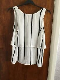 F&F black and white top