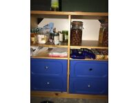 IKEA chest of draws with shelves