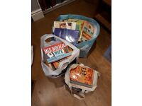 3 bags of books old and recent title books free