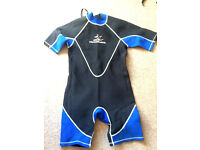 Two Hammerhead wetsuits suitable 10/12 year old.