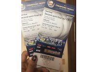 Flash Sale!! 2 tickets for 2nd Semifinal- India va Bangladesh