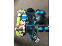Monster board skate pack