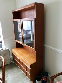 Wooden display cabinet in great condition