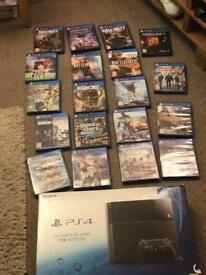 PS4 1tb huge bundle swap iPhone 7 Xbox one x galaxy s8