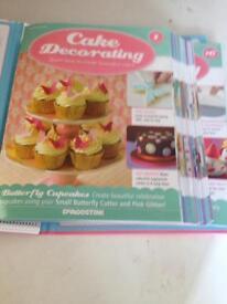 "Deagostini ""Cake Decorating"" magazines volume 1to 16"