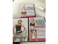 Tracey Anderson Dance Workout DVD x3