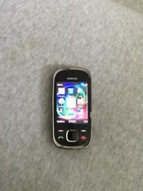 Nokia 7230 Black O2 Network Mobile Slide Phone