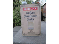 Resiblock Indian Sandstone Invisible Sealer RRP £69.49 Selling For £40 Each - 2 Available