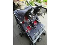 McLaren double buggy