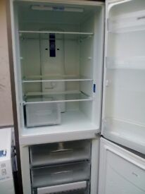Indeset silver fridge frizer