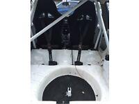 Vauxhall nova roll cage and bucket seats