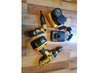 Dewalt 18v cordless drill & 3.6v cordless screwdriver