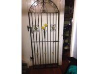 pretty iron gate