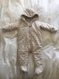 Mamas and papas fleece suit