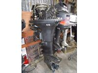 Mariner 40hp outboard boat engine