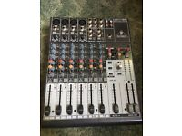 Behringer Xenyx 1204 mixing desk for sale w/ Behringer U-control audio interface **Collection only**