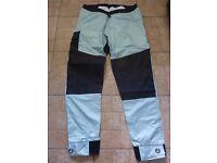 Peak kayak/canoe trousers, size XL