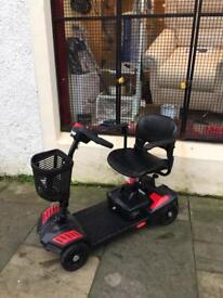 Mobility Scooter Boot and Pavement