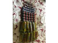 Job lot of Solder Wire Flux Wire wool Earth clamps