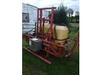 allman hyd folding 12m sprayer 825litre 450 ono