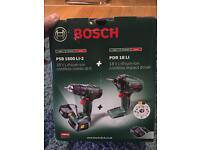 Bosch Drill Driver and Impact Driver New