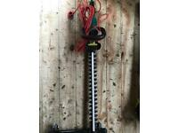 Qualcast electric hedge trimmer (long)