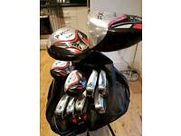 Full set of ram clubs and stand bag