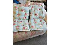 4 In The Style Of Cath kidston seat cushions