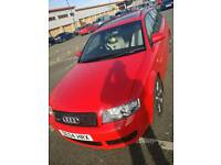 Audi a4 avant s line estate 1.8 TURBO PETROL VERY LOW MILEAGE