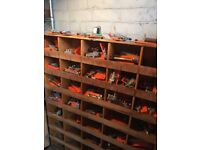Joblot Schrader Bellows Pneumatic Enginerring Components Over 120 Pieces Job Lot- can deliver