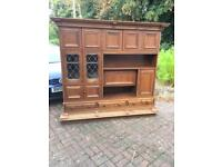 Oak dresser unit