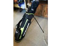 Dunlop junior golf club set and bag