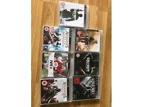 PS3 7 games