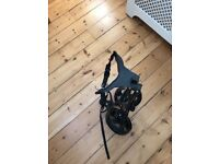 Never used golf foldable trolley