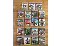 PS3 console, controllers and games bundle
