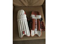 Boys cricket pads. Good condition.