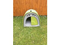 Eglu Classic Green Rabbit Hutch & Accesories
