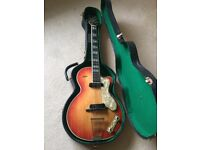 Hofner Club 60 made in 1959 all original with OHSC - not Gibson or Fender