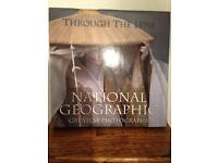 """National Geographic hard back book """"Through The Lens"""""""