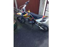 110 demon pitbike .. 125 pit bike