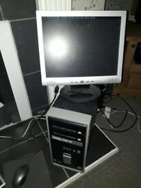 complete compaq computer set up (spares and repairs?)