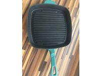 Green Crofton Griddle, frying Pan, Ex Cond, 26 cms