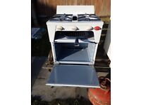 Campervan Gas Cooker and Gas Oven