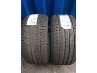 Bmw 7.5mm brand new two tyres 255 40 18