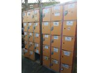 Lockers for sale. 3 sets of 15 sold as one lot.